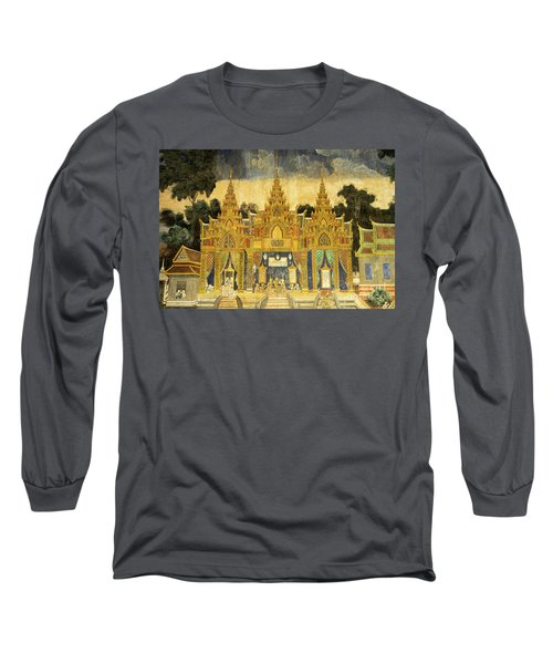Royal Palace Ramayana 20 Long Sleeve T-Shirt