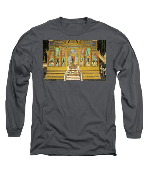 Royal Palace Ramayana 21 Long Sleeve T-Shirt
