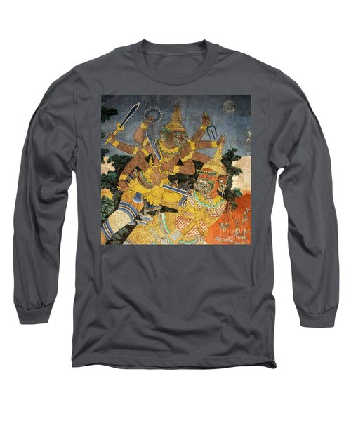 Royal Palace Ramayana 22 Long Sleeve T-Shirt