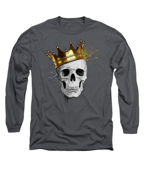 Royal Skull Long Sleeve T-Shirt by Nicklas Gustafsson