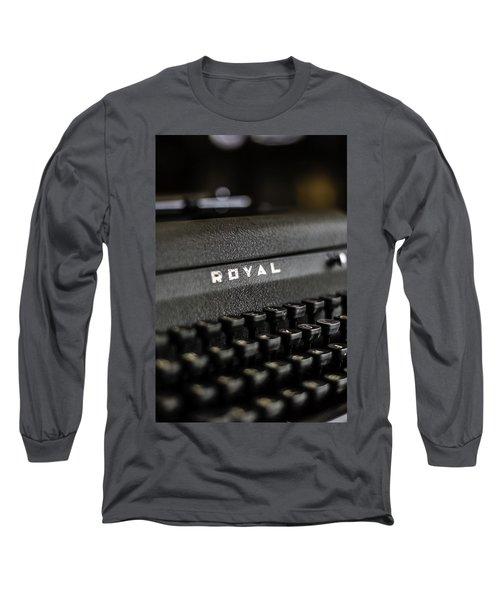 Royal Typewriter #19 Long Sleeve T-Shirt