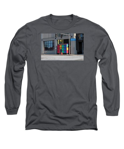 Long Sleeve T-Shirt featuring the photograph Rubik Shelter by Michiale Schneider