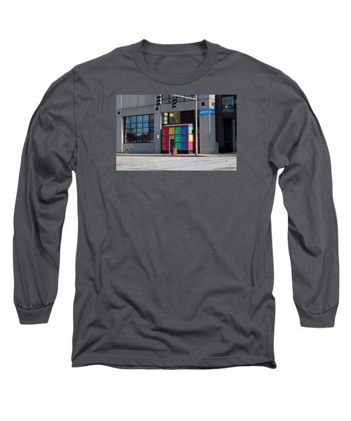 Rubik Shelter Long Sleeve T-Shirt by Michiale Schneider