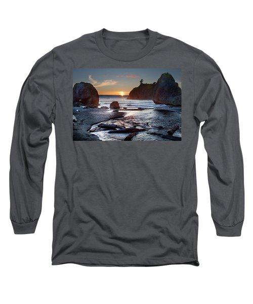 Ruby Beach #1 Long Sleeve T-Shirt