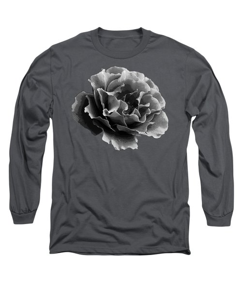 Long Sleeve T-Shirt featuring the photograph Ruffles by Linda Lees