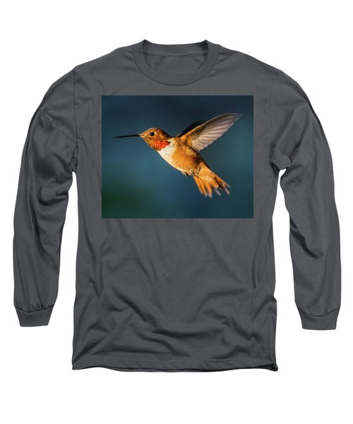 Rufous Long Sleeve T-Shirt by Martina Thompson