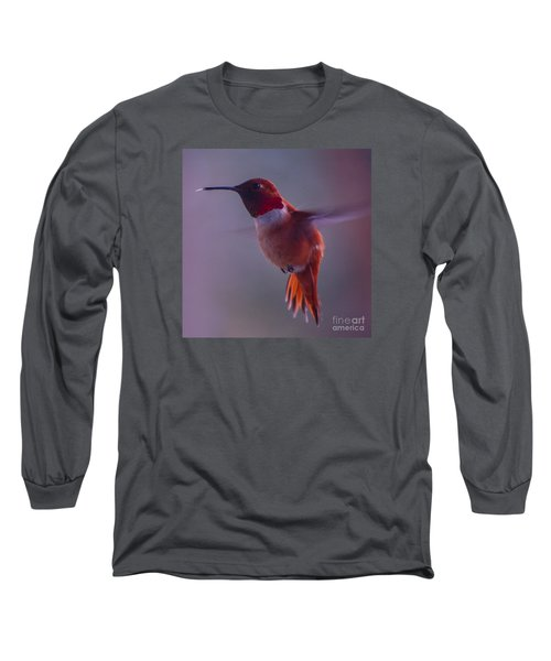 Rufus Hummingbird Long Sleeve T-Shirt
