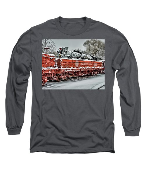 Running Out Of Steam Long Sleeve T-Shirt