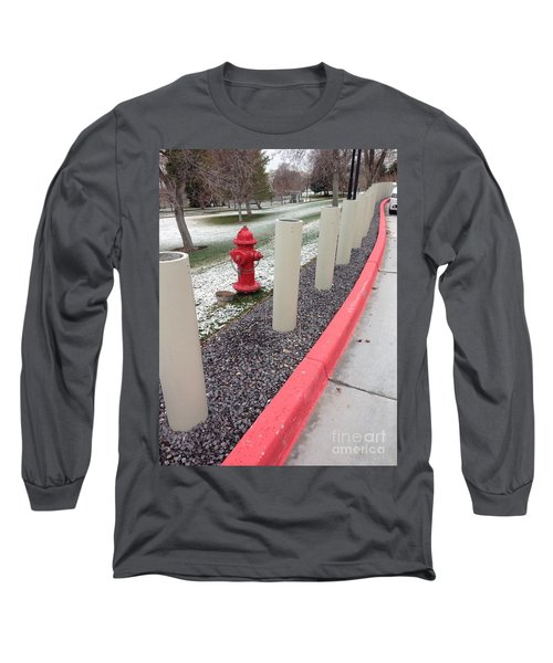 Long Sleeve T-Shirt featuring the photograph Running The Gauntlet by Richard W Linford