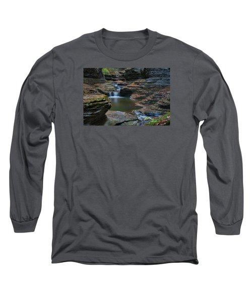 Running Water Long Sleeve T-Shirt