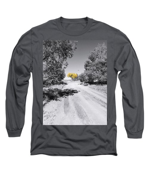 Rural Autumn Splash Long Sleeve T-Shirt