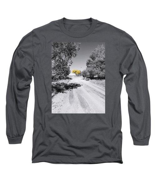 Rural Autumn Splash Long Sleeve T-Shirt