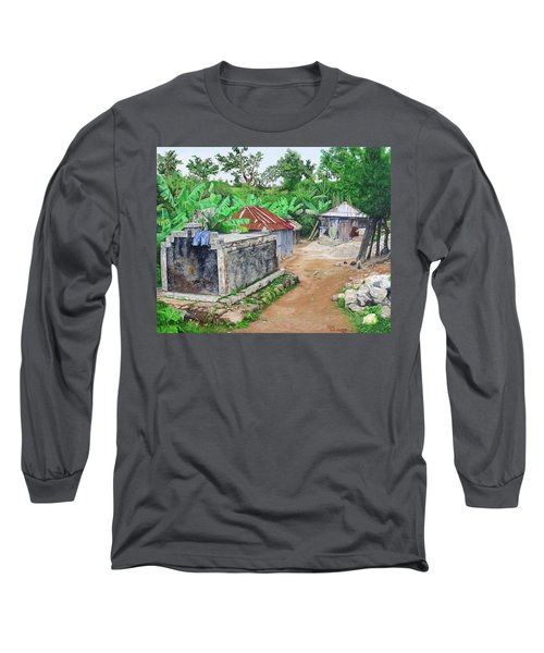 Rural Haiti - A Study In Poignancy Long Sleeve T-Shirt