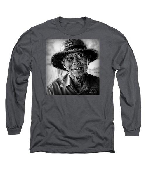 Rural Rice Farmer Long Sleeve T-Shirt