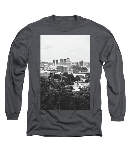 Long Sleeve T-Shirt featuring the photograph Rural Scenes In The Magic City by Shelby Young