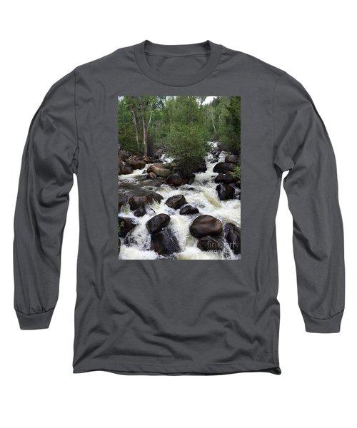Rush Hour Long Sleeve T-Shirt by Beth Saffer