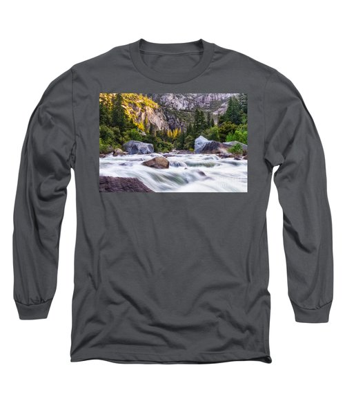 Rush Of The Merced Long Sleeve T-Shirt