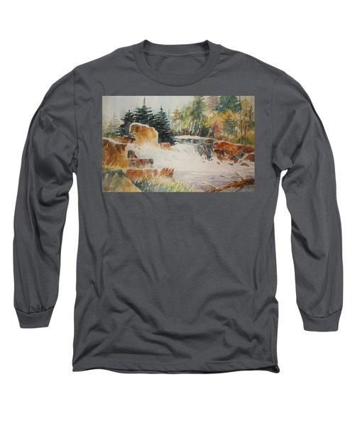Rushing Streambed Long Sleeve T-Shirt