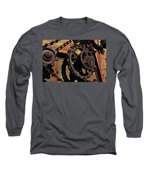 Rusted Gears Long Sleeve T-Shirt