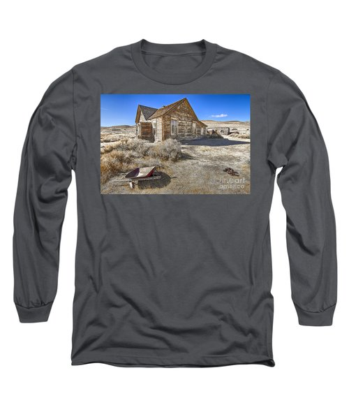 Long Sleeve T-Shirt featuring the photograph Rustic House by Jason Abando