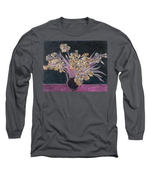 Rustic II Van Gogh Long Sleeve T-Shirt by David Bridburg