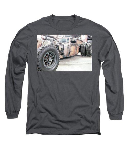 Rusty Crusty With Power Long Sleeve T-Shirt