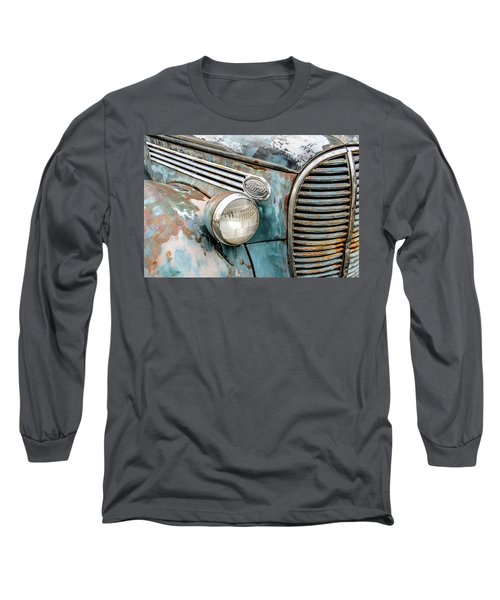 Rusty Ford 85 Truck Long Sleeve T-Shirt by David Lawson