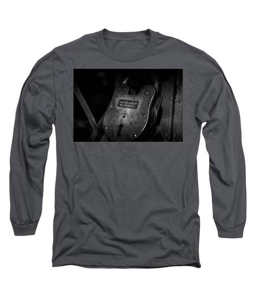 Rusty Lock In Bw Long Sleeve T-Shirt