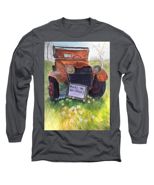 Rusty Old Relic Long Sleeve T-Shirt