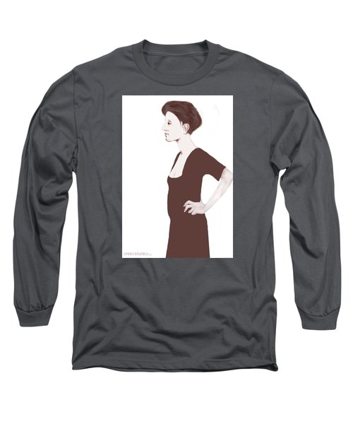 Long Sleeve T-Shirt featuring the digital art Rysselberghe by Kerry Beverly