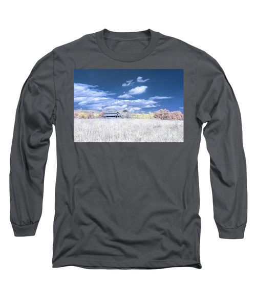 S C Upstate Barn Faux Color Long Sleeve T-Shirt