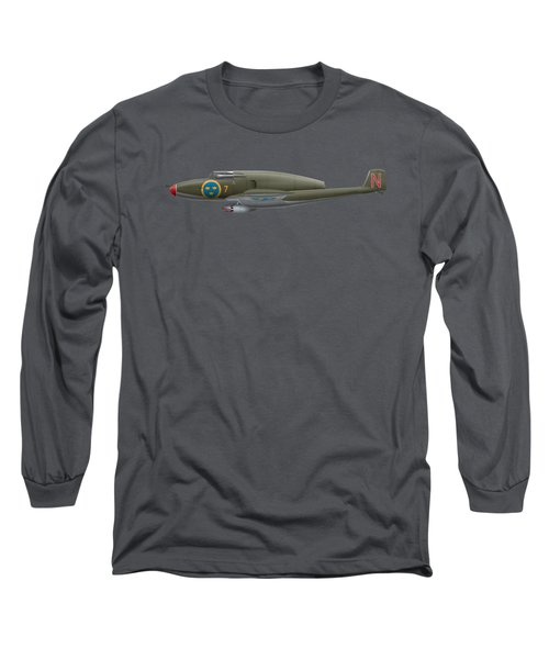 Saab J 21 R - 21463 Long Sleeve T-Shirt