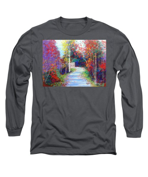 Sackville Walking Trail Long Sleeve T-Shirt by Rae  Smith