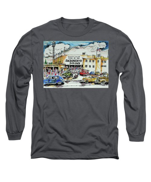 Sacramento Solons Long Sleeve T-Shirt