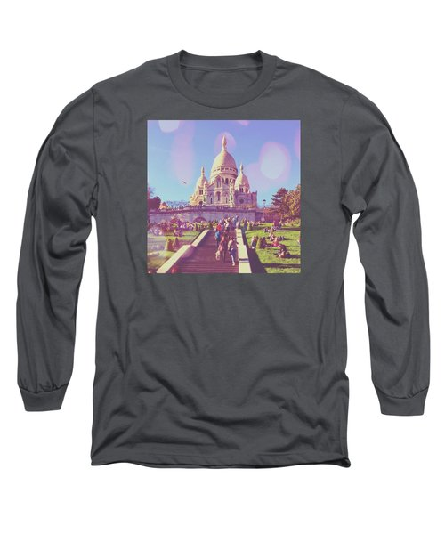 Sacre-coeur In Summer Long Sleeve T-Shirt