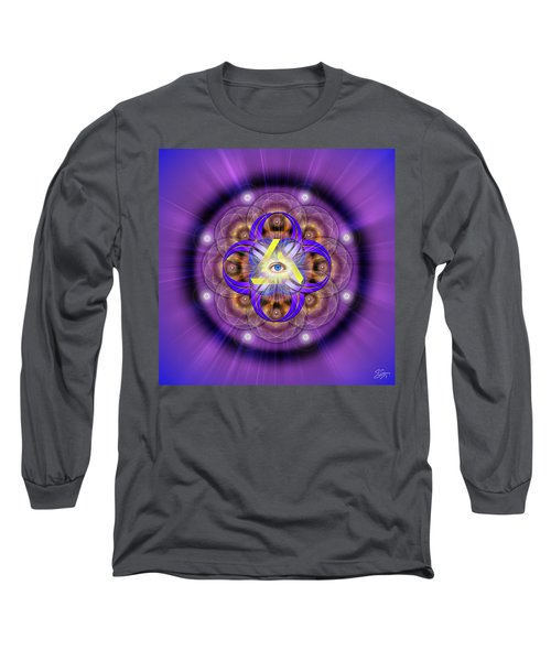 Sacred Geometry 639 Long Sleeve T-Shirt