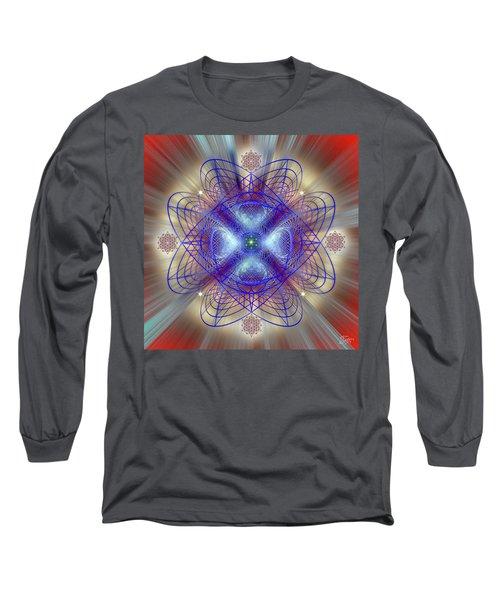 Sacred Geometry 656 Long Sleeve T-Shirt