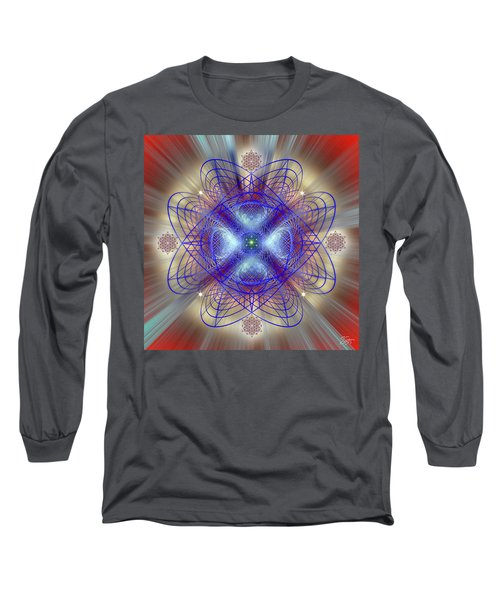 Sacred Geometry 656 Long Sleeve T-Shirt