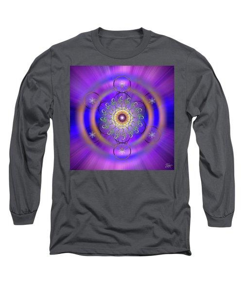Sacred Geometry 658 Long Sleeve T-Shirt