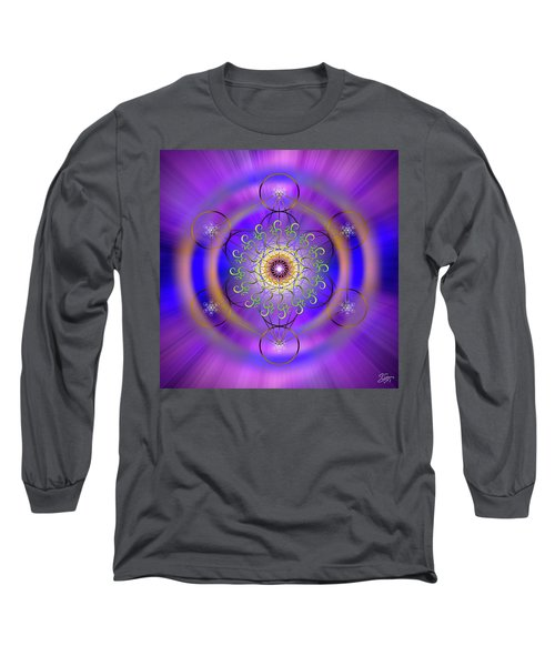 Sacred Geometry 658 Long Sleeve T-Shirt
