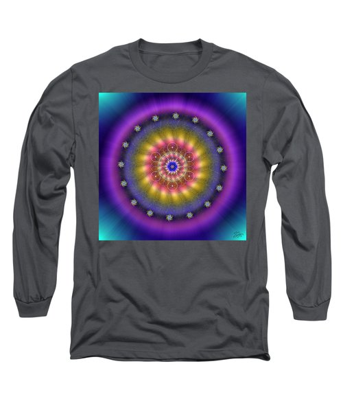 Sacred Geometry 659 Long Sleeve T-Shirt