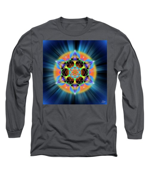 Sacred Geometry 709 Long Sleeve T-Shirt