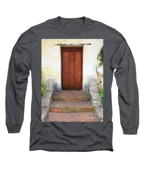 Sacred Heart Door Long Sleeve T-Shirt