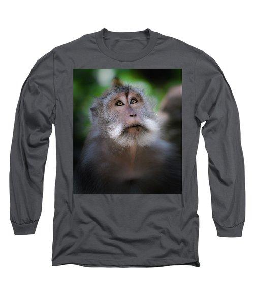 Sacred Monkey Forest Sanctuary Long Sleeve T-Shirt
