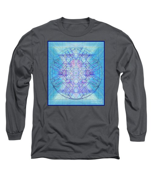 Sacred Symbols Out Of The Void A3c Long Sleeve T-Shirt by Christopher Pringer