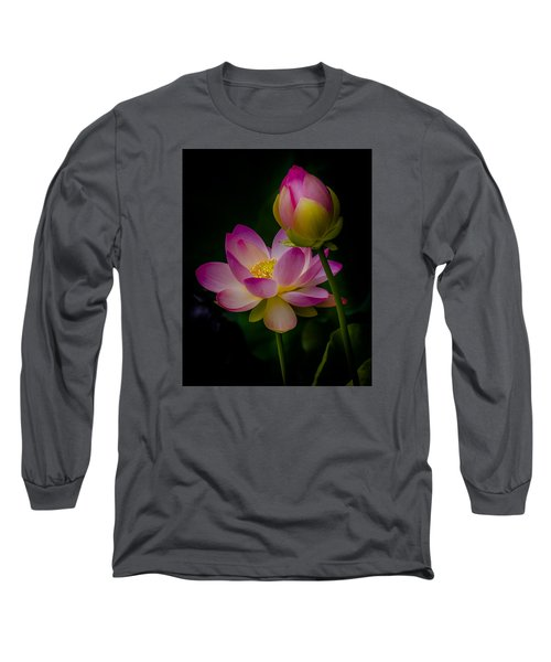 Sacred Water Lily 4 Long Sleeve T-Shirt
