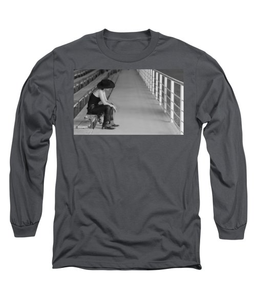 Sad Cowgirl Long Sleeve T-Shirt