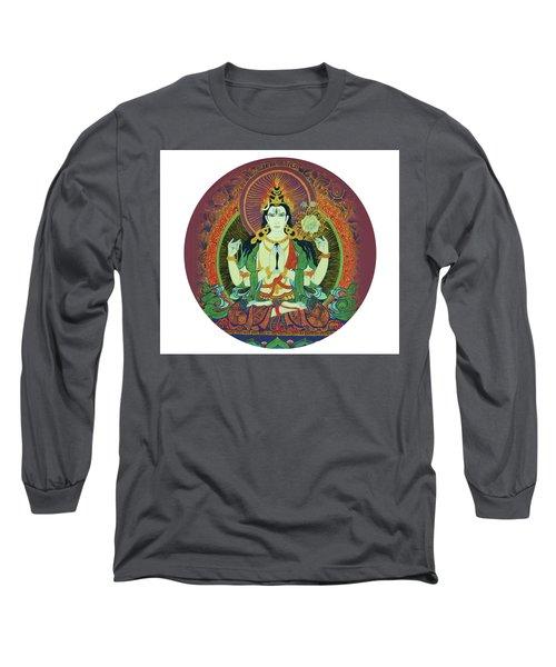 Sada Shiva  Long Sleeve T-Shirt