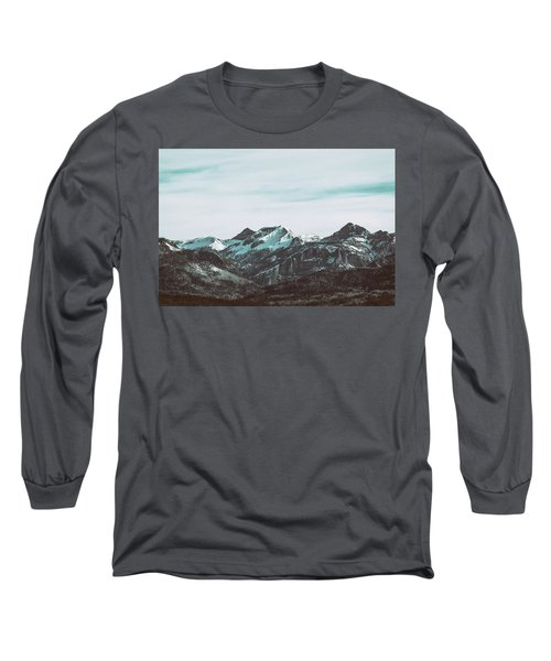 Saddle Mountain Morning Long Sleeve T-Shirt