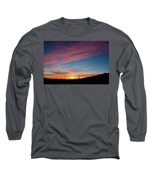 Saddle Road Sunset Long Sleeve T-Shirt